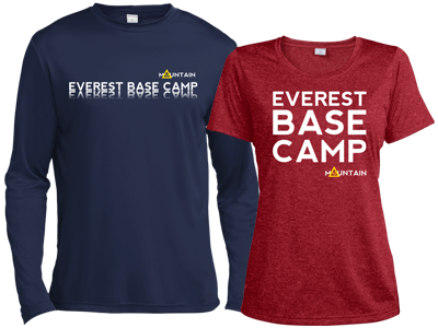Everest Base Camp - 2 long and short sleeve shirts - Mountain IQ