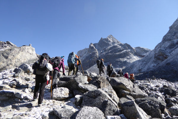 everest base camp trek difficulty length